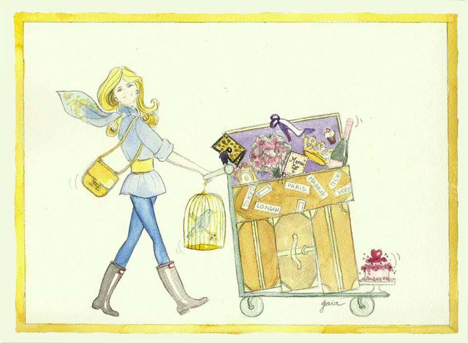 Una valigia Chic e Cosmopolita