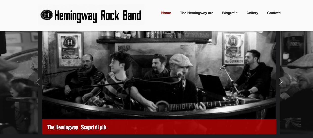 Sito web della band